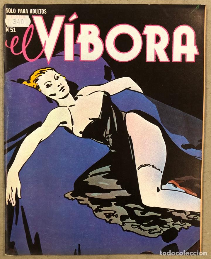 EL VÍBORA COMIX N° 51 (EDICIONES LA CÚPULA 1983). ROGER, MENA, MAX, GALLARDO, CALONGE,... (Tebeos y Comics - La Cúpula - El Víbora)