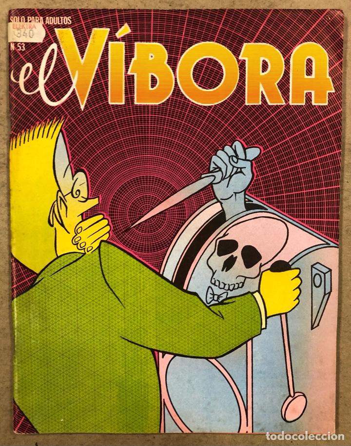 EL VÍBORA COMIX N° 53 (EDICIONES LA CÚPULA 1983). ROGER, PONS, NAZARIO, MAX, GALLARDO, GALIANO (Tebeos y Comics - La Cúpula - El Víbora)