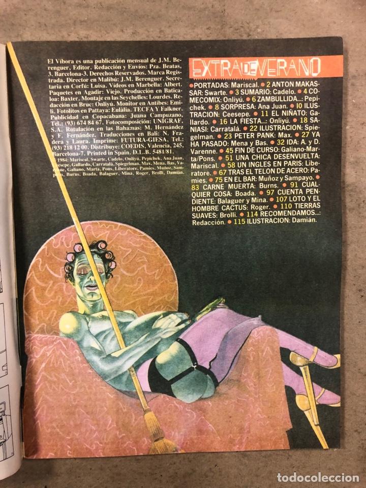 Cómics: EL VÍBORA COMIX N° 56 y 57 (EDICIONES LA CÚPULA 1984). MARISCAL, ONLIYÚ, GALLARDO, MAX, ROGER,... - Foto 2 - 261600695