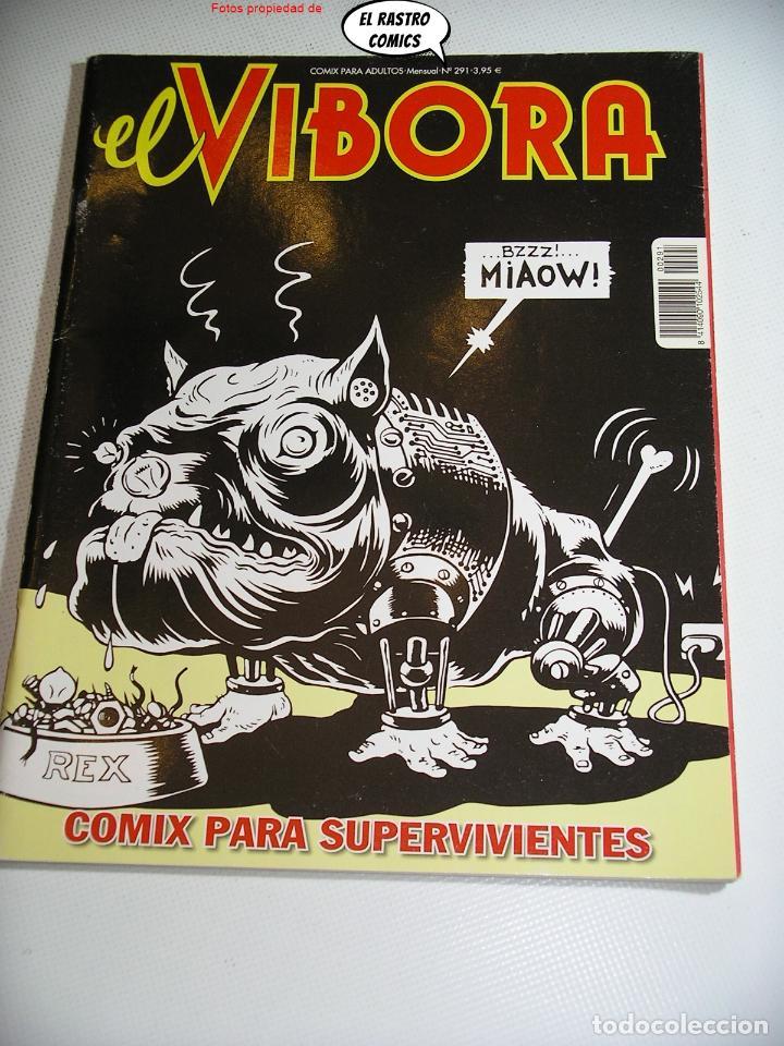 EL VIBORA Nº 291, ED. LA CÚPULA, MUY DIFICIL (Tebeos y Comics - La Cúpula - El Víbora)