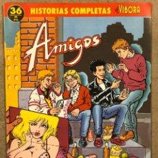 """Cómics: HISTORIAS COMPLETAS EL VÍBORA N° 36 (EDICIONES LA CÚPULA). """"AMIGOS"""" PONS.. Lote 261941105"""