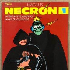 """Cómics: NECRON 1. MAGNUS. EDICIONES LA CÚPULA 1989. """"EL NACIMIENTO DEL MONSTRUO"""".. Lote 261955280"""