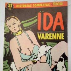 Cómics: HISTORIAS COMPLETAS EL VIBORA 31 - IDA - VARENNE. Lote 262102770