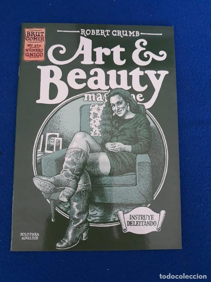 ART & BEAUTY - ROBERT CRUMB (Tebeos y Comics - La Cúpula - Comic USA)