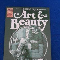 Cómics: ART & BEAUTY - ROBERT CRUMB. Lote 262897395