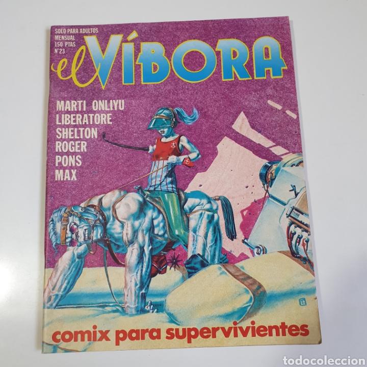 CÓMIC, EL VIBORA, NUM.23. (Tebeos y Comics - La Cúpula - El Víbora)