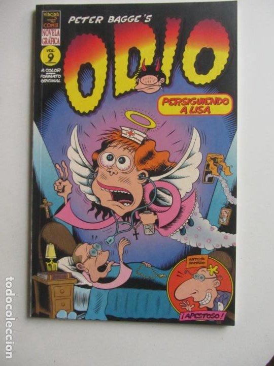 ODIO. VOL. 9. VIBORA COMIX. EDICIONES LA CUPULA. PETER BAGGE E11 (Tebeos y Comics - La Cúpula - Comic USA)