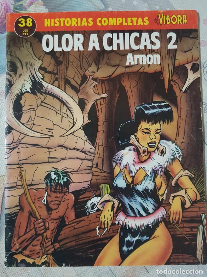 OLOR A CHICAS 2 POR ARNON. COLECCIÓN HISTORIAS COMPLETAS EL VÍBORA Nº 38. FORMATO GRAPA (Tebeos y Comics - La Cúpula - El Víbora)
