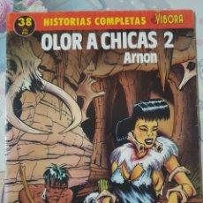 Cómics: OLOR A CHICAS 2 POR ARNON. COLECCIÓN HISTORIAS COMPLETAS EL VÍBORA Nº 38. FORMATO GRAPA. Lote 263087590