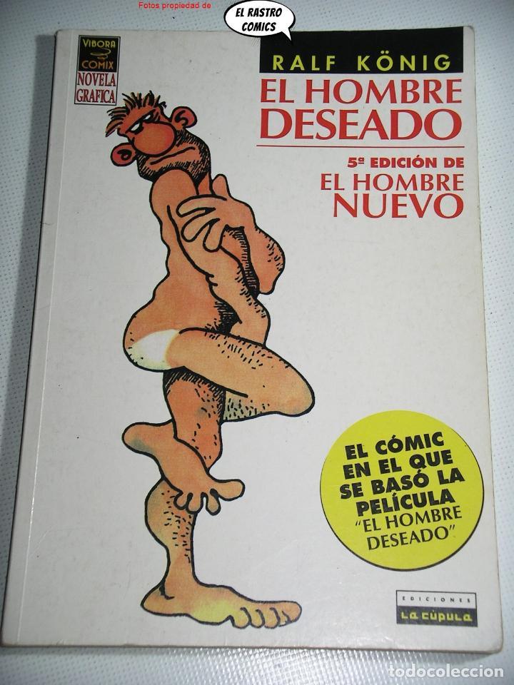 EL HOMBRE DESEADO/NUEVO, RALF KONIG, ED. LA CÚPULA, OFERTA!! (Tebeos y Comics - La Cúpula - Comic Europeo)