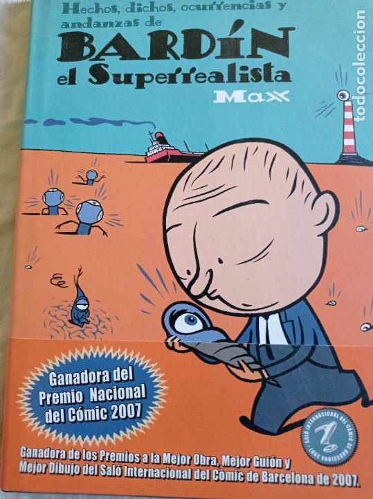BARDIN EL SUPERREALISTA (Tebeos y Comics - La Cúpula - Autores Españoles)