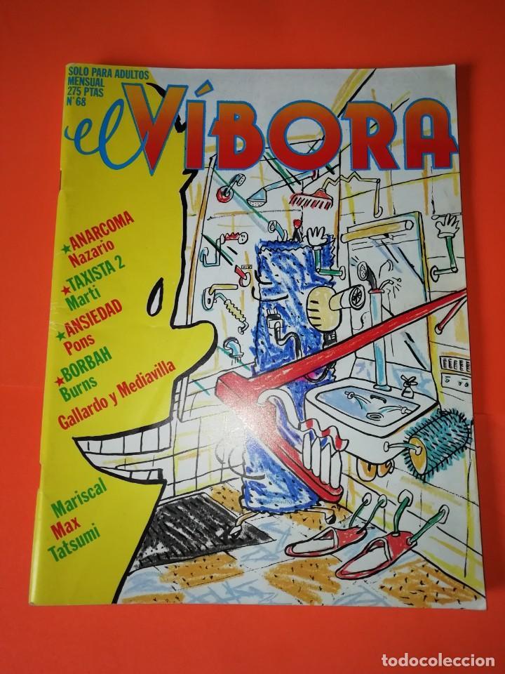 EL VIBORA. Nº 68. EDICIONES LA CUPULA. BUEN ESTADO (Tebeos y Comics - La Cúpula - El Víbora)