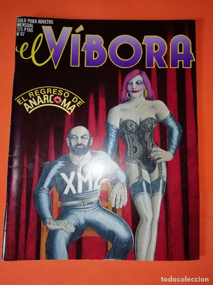 EL VIBORA. Nº 67. EDICIONES LA CUPULA. BUEN ESTADO (Tebeos y Comics - La Cúpula - El Víbora)