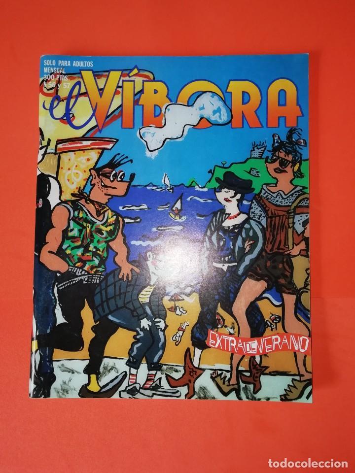 EL VIBORA. Nº 56-57. EDICIONES LA CUPULA. ESTADO BUENO (Tebeos y Comics - La Cúpula - El Víbora)