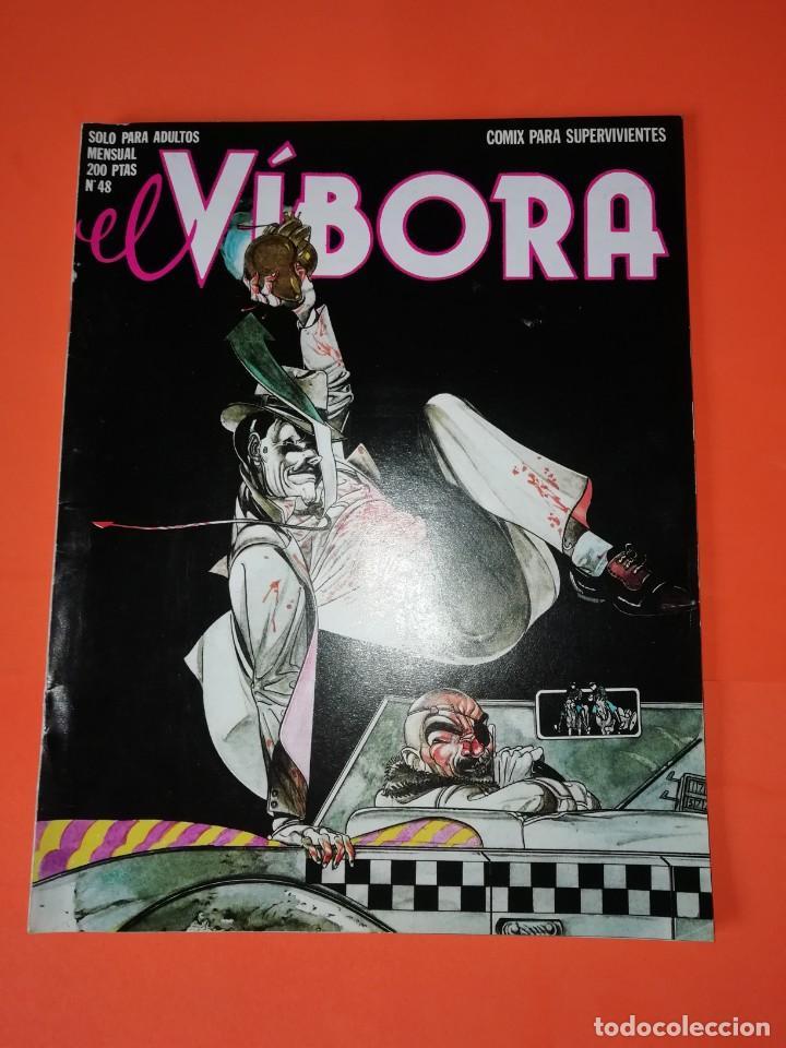 EL VIBORA. Nº 48. EDICIONES LA CUPULA. ESTADO BUENO (Tebeos y Comics - La Cúpula - El Víbora)