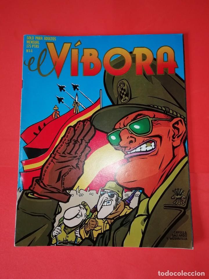 EL VIBORA. Nº 44. EDICIONES LA CUPULA. ESTADO BUENO (Tebeos y Comics - La Cúpula - El Víbora)