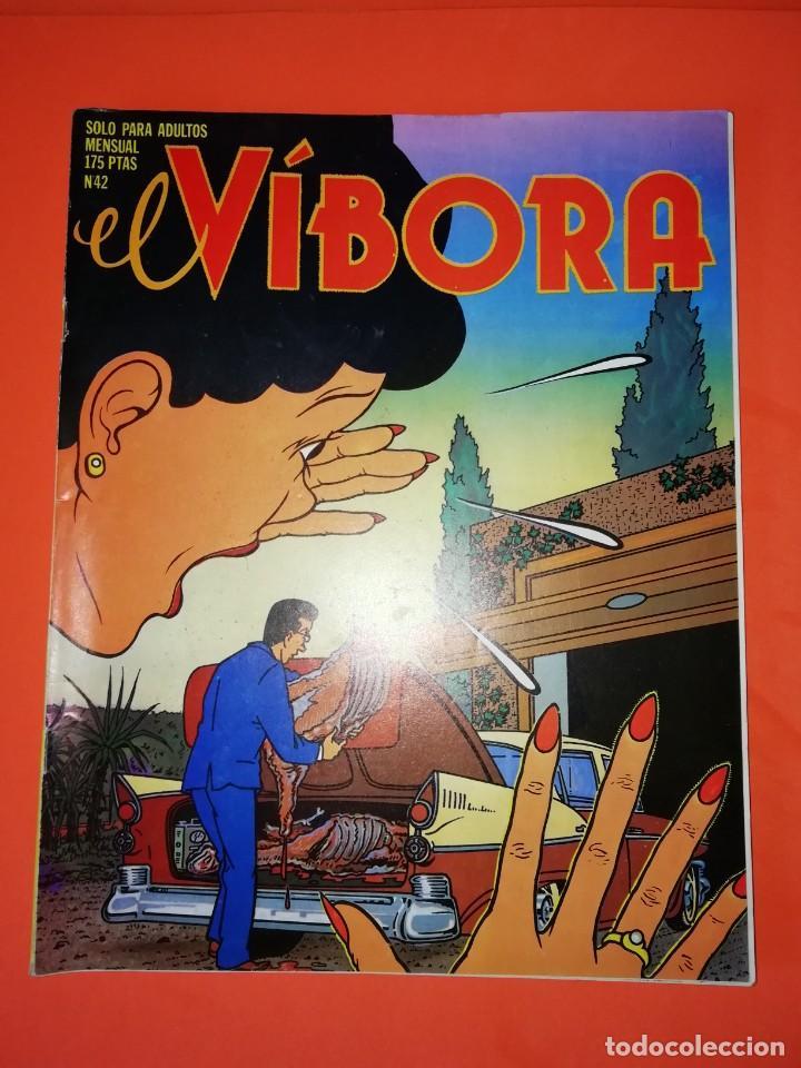 EL VIBORA. Nº 42. EDICIONES LA CUPULA. ESTADO BUENO (Tebeos y Comics - La Cúpula - El Víbora)