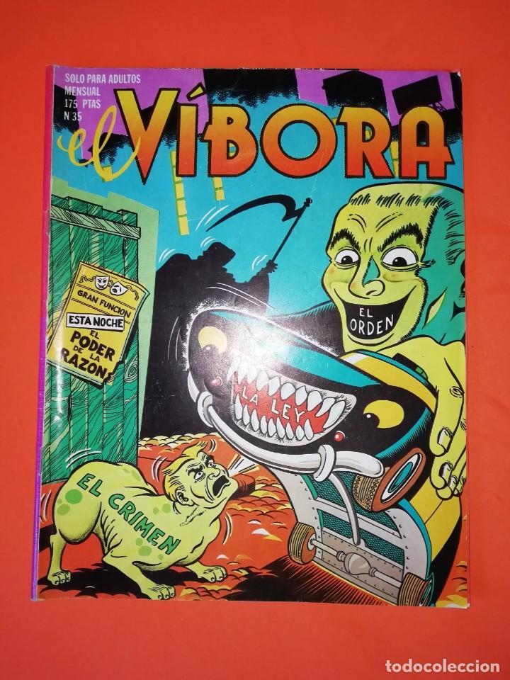 EL VIBORA. Nº 35. EDICIONES LA CUPULA. ESTADO NORMAL (Tebeos y Comics - La Cúpula - El Víbora)