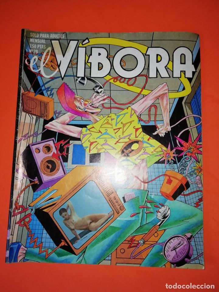 EL VIBORA. Nº 29. EDICIONES LA CUPULA. ESTADO NORMAL (Tebeos y Comics - La Cúpula - El Víbora)