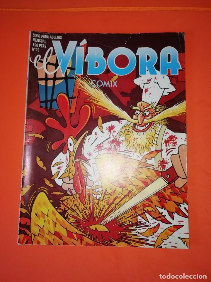 EL VIBORA. Nº 25. EDICIONES LA CUPULA. ESTADO NORMAL (Tebeos y Comics - La Cúpula - El Víbora)