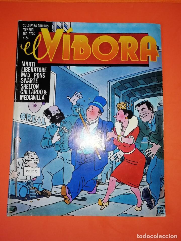 EL VIBORA. Nº 24. EDICIONES LA CUPULA. ESTADO NORMAL (Tebeos y Comics - La Cúpula - El Víbora)