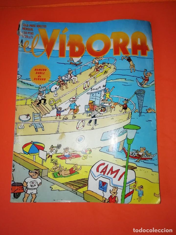 EL VIBORA. Nº 20-21. EDICIONES LA CUPULA. ESTADO NORMAL (Tebeos y Comics - La Cúpula - El Víbora)