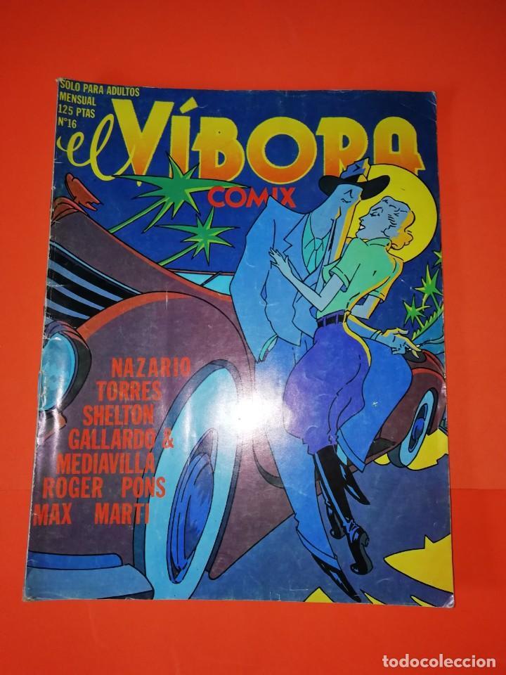 EL VIBORA. Nº 16. EDICIONES LA CUPULA. ESTADO NORMAL (Tebeos y Comics - La Cúpula - El Víbora)