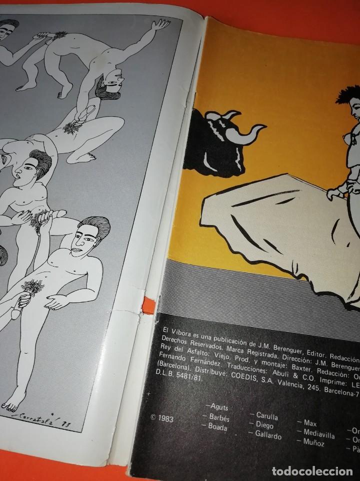 Cómics: EL VIBORA. Nº 44. EDICIONES LA CUPULA. CUBIERTAS SUELTAS - Foto 2 - 264303056