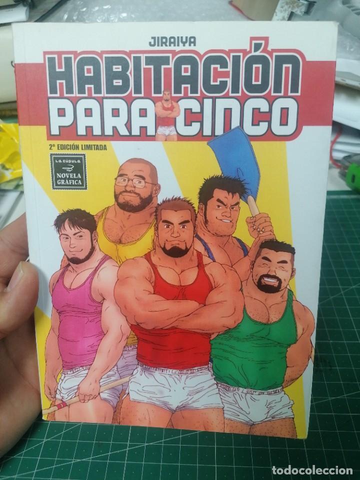 JIRAIYA. HABITACIÓN PARA 5. (Tebeos y Comics - La Cúpula - Autores Españoles)