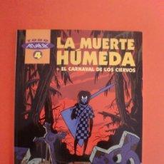 Comics: LA MUERTE HUMEDA EDICIONES LA CUPULA 1ª EDIC. 1999 TODO MAX 4. Lote 266685493
