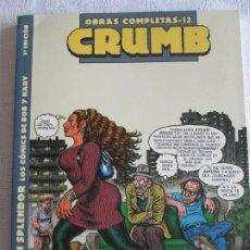 Cómics: CRUMB OBRAS COMPLETAS--12. Lote 266876189