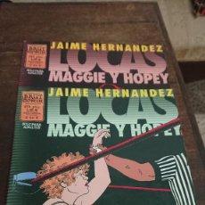 Comics : LOCAS - MAGGIE Y HOPEY Nº 1 Y 2 - JAIME HERNDEZ - EDICIONES CUPULA 1998. Lote 267024274