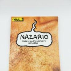 Fumetti: NAZARIO HISTORIETAS OBRA COMPLETA 1975-1980 VIBORA. Lote 267488374