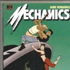 Cómics: MECHANICS. EDICIONES LA CÚPULA, JAIME HERNÁNDEZ, TOMO ÚNICO EN EXCELENTE ESTADO. Lote 267616289