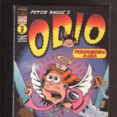 Cómics: ODIO Nº 9 DE PETER BAGGE, EDICIONES LA CÚPULA, EXCELENTE ESTADO. Lote 267621459