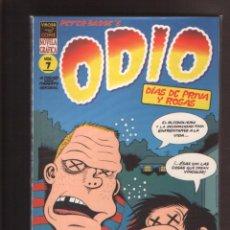 Cómics: ODIO Nº 7 DE PETER BAGGE, EDICIONES LA CÚPULA, EXCELENTE ESTADO. Lote 267621649