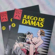 Cómics: COLECCIÓN X NºS 8 Y 23 (JUEGO DE DAMAS Y GOMORRA). Lote 268426969