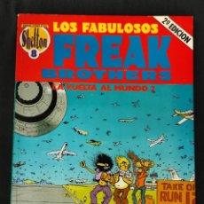 Cómics: LOS FABULOSOS FREAK BROTHERS - LA VUELTA AL MUNDO 2 - LA CUPULA -. Lote 268817519