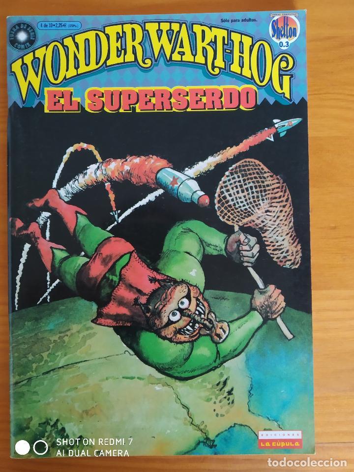 WONDER WART-HOG EL SUPERSERDO Nº 4 - LA CUPULA (8Y) (Tebeos y Comics - La Cúpula - Comic USA)