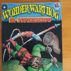 Cómics: WONDER WART-HOG EL SUPERSERDO Nº 4 - LA CUPULA (8Y). Lote 268936049