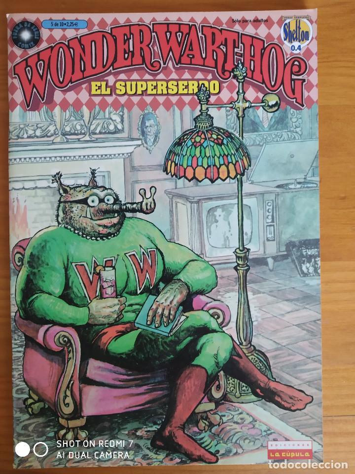 WONDER WART-HOG EL SUPERSERDO Nº 5 - LA CUPULA (8Y) (Tebeos y Comics - La Cúpula - Comic USA)