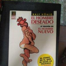 Cómics: EL HOMBRE DESEADO - RALF KÖNIG. Lote 269033429