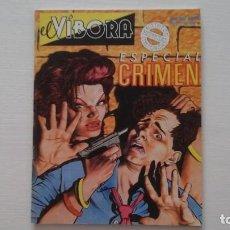 Cómics: EL VÍBORA. ESPECIAL CRIMEN. Lote 269118778