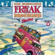 Comics: LOS FABULOSOS FREAK BROTHERS 02 EDICIÓN INTEGRAL / GILBERT SHELDON ED. LA CÚPULA. Lote 269197623