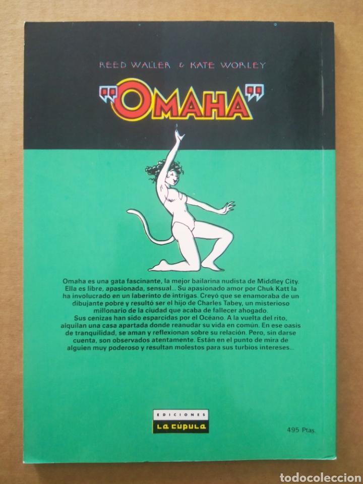 Cómics: Omaha La Gata Bailarina n°5 (La Cúpula/Víbora Cómix, 1991). Por Reed Waller y Kate Worley. - Foto 2 - 269701053