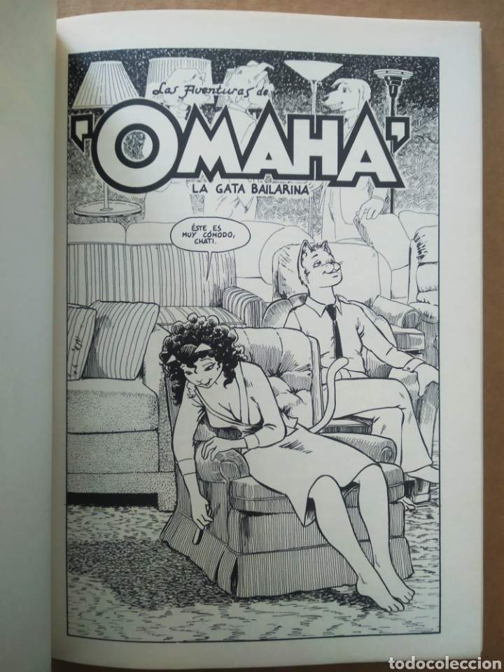 Cómics: Omaha La Gata Bailarina n°5 (La Cúpula/Víbora Cómix, 1991). Por Reed Waller y Kate Worley. - Foto 3 - 269701053