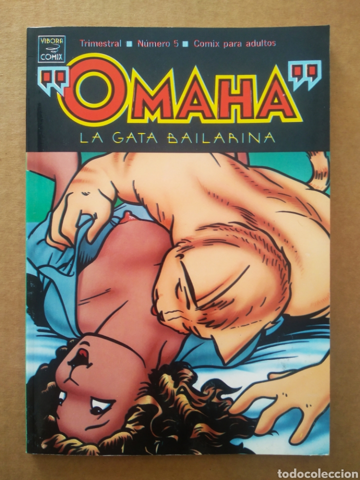 OMAHA LA GATA BAILARINA N°5 (LA CÚPULA/VÍBORA CÓMIX, 1991). POR REED WALLER Y KATE WORLEY. (Tebeos y Comics - La Cúpula - El Víbora)