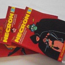 Fumetti: NECRON. MAGNUS. 1, 2 Y 3. EL VÍBORA. ED. LA CÚPULA.. Lote 269941538