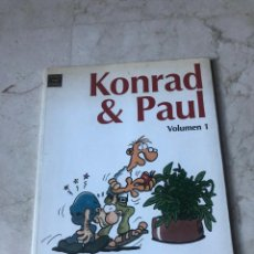 Cómics: KONRAD & PAUL VOLUMEN 1 - EDICIONES LA CUPULA 2005. Lote 270454293