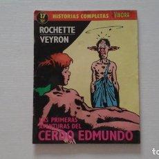 Cómics: EL VÍBORA. HISTORIAS COMPLETAS. N° 17. Lote 270595598